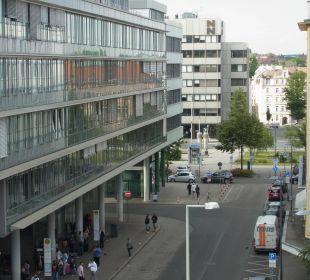 Ausblick Richtung Busbahnhof Novotel Nürnberg Centre Ville
