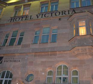 Hotel von vorne Hotel Victoria Nürnberg