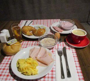 Frühstück ENZIANA Hotel Vienna