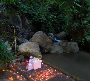 Dinner By the river Hotel Nandini Bali Jungle Resort & Spa