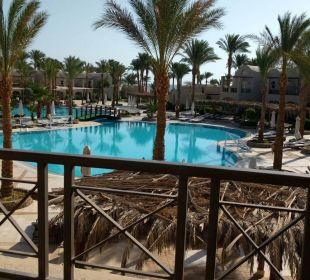 Blick vom Zimmer Hotel Iberotel Makadi Beach