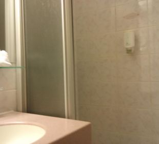 Bad im Einzelzimmer Hotel Am Parkring