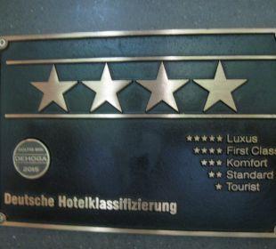 Sterne-Kategorisierung Vienna House Easy Berlin