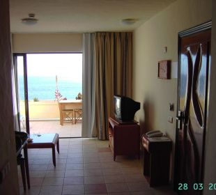 Kleines Appartement - Wohnraum Hotel Rocamar Beach