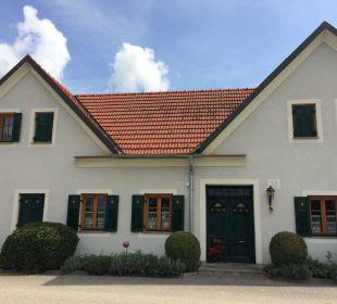 Außenansicht Bauernhof Dorfhof Bauer
