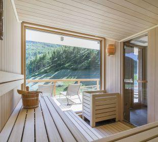 Panorama Sauna im Alpin Spa Tonzhaus Hotel & Restaurant
