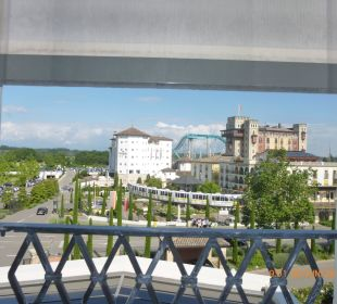 Aus dem Hotelzimmer Hotel Colosseo Europa-Park
