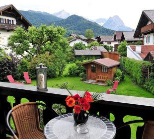 Ausblick vom Appartement Hotel Trifthof
