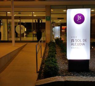 Hotel Eingang  JS Hotel Sol de Alcudia