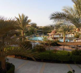 Aussicht von Balkon Hotel Steigenberger Coraya Beach