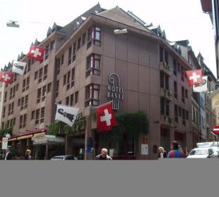 Hotel Basel Aussenansicht Hotel Basel