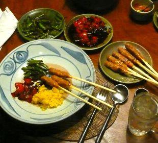 Abendessen im Bale Ciliks Beach Garden