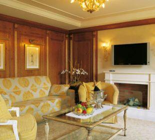Suite-Wohnzimmer Romantik Hotel Die Krone von Lech