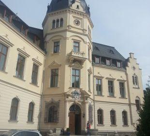 Hoteleingang Schlosshotel Ralswiek
