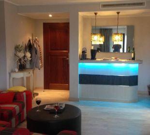 Wohnraum der Suite 1215 Hotel Lago Garden