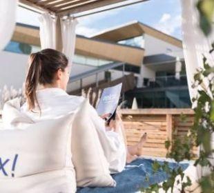 Relax! Lounge outdoor  Hotel Tauern Spa Zell am See-Kaprun
