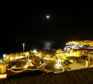 Nächtlicher Ausblick vom Zimmer in der 9. Etage Sensimar Calypso Resort & Spa