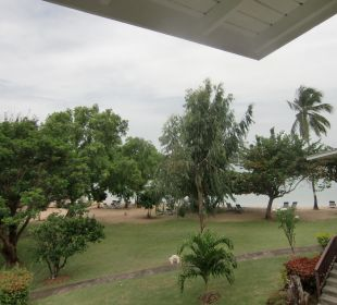 Blick vom Balkon Hotel The Calabash
