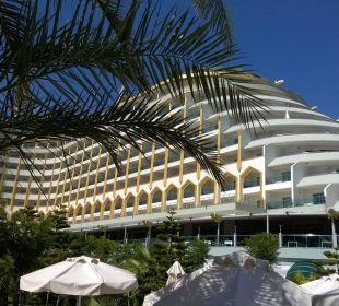 Das Imperial vom Pool aus Hotel Delphin Imperial