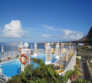 Pool auf der Dachterrasse Hotel Gran Rey