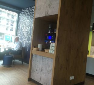 Kaffeemaschine  Ibis budget Hamburg City