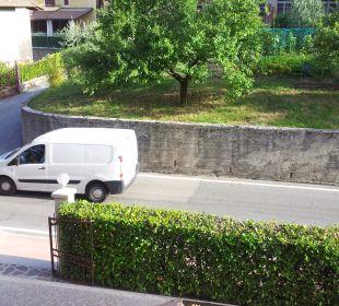 Vom Balkon zur Hauptstrasse Hotel Bellavista