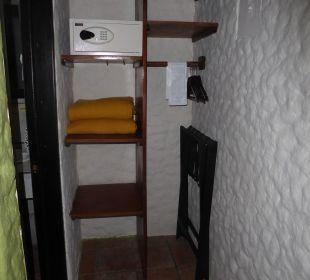 Schrank und Safe Hotel Montana de Fuego