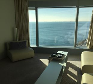 Blick aus der Corner Suite W Barcelona Hotel