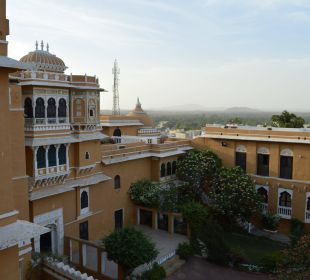 Gartenanlage Hotel Deogarh Mahal