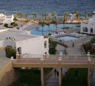 Hotel visto dalla terrazza ristorante Hotel Continental Plaza Beach