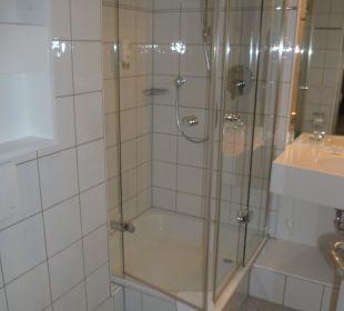 Badezimmer Comfor Hotel Frauenstrasse