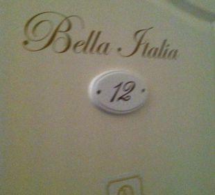 Bella Italia Zi9mmer 12 1. Stock Hotel Residence Bremen