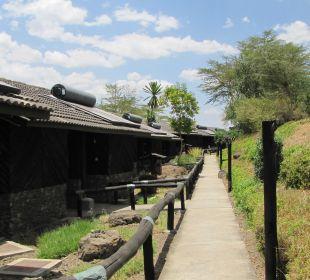 Бунгало Hotel Lake Nakuru Lodge