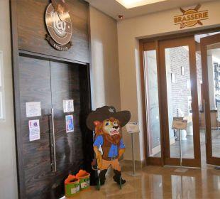 Eingang vom Kinderclub im Hotel Aska Lara Aska Lara Resort & Spa