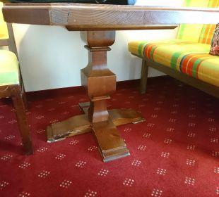 Tisch Quellness Golf Resort - Das Ludwig