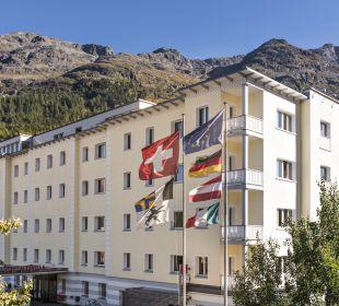 Außenansicht Hotel Laudinella