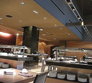 Im Frühstücksraum Crowne Plaza Barcelona - Fira Center