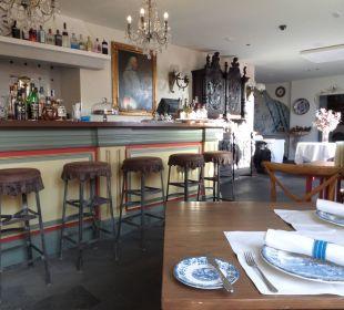 Cafeteria im EG für Frühstück, Nachmittag + Abend Hotel Hacienda de Abajo