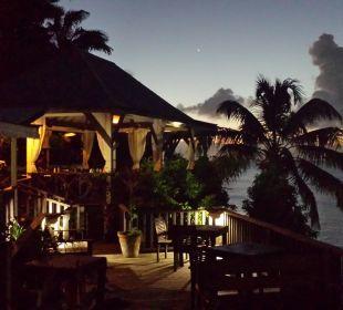 Restaurant bei Nacht Cocos Hotel