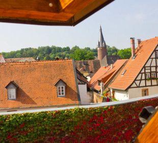Ausblick auf die Altstadt Hotel Goethe