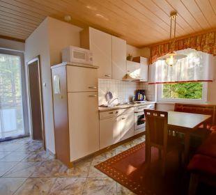 Küche Fewo IV  Haus am Wald