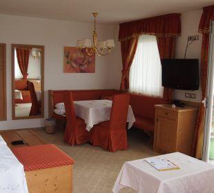 Luxe kamer voorzien van 2 balkons Hotel Grafenstein