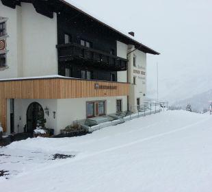 Wintereinbruch am 11.10.2013 Hotel Goldener Berg