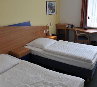 Schlafbereich Hotel Median Hannover Messe