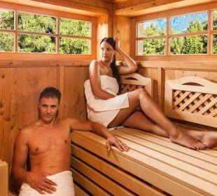 Wohltuende Sauna Wohlfühlhotel Falzeben