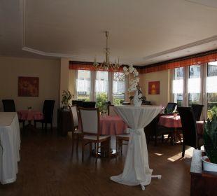 Frühstücksraum Gästehaus Linde