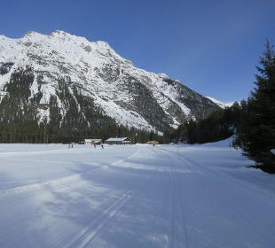 Loipen in Leutasch Alpenhotel Karwendel