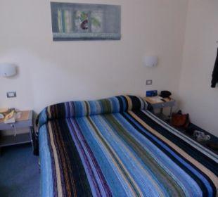 Doppelzimmer mit Bergblick Hotel Villa Moretti