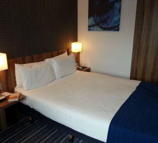 Doppelbett Hotel Holiday Inn Express Hamburg City Centre