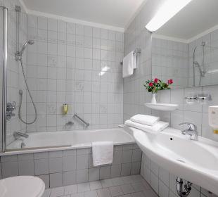 Badezimmer Best Western Hotel Hamburg International